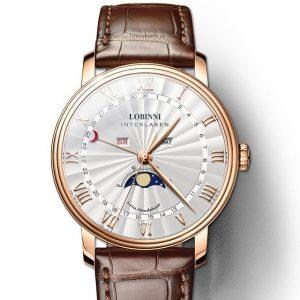 Men's Sapphire Quartz Watch