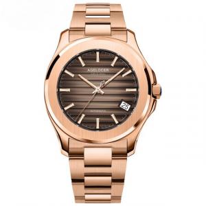 Gold Mechanical Mens Watch