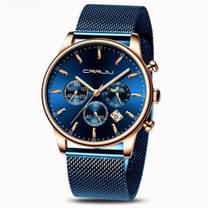 Men's Mesh Belt Wrist Watch