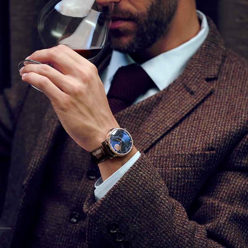 Agelocer Designer Moon Phase Luxury Watch at SenseOrient