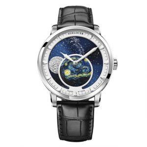Designer Moon Phase Luxury Watch