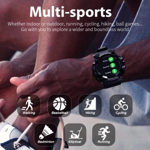 Fitness Tracker Smart Watch