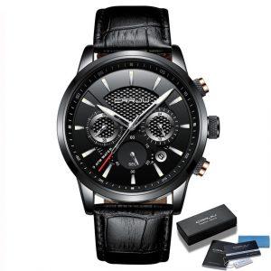 Casual Leather Quartz Watches