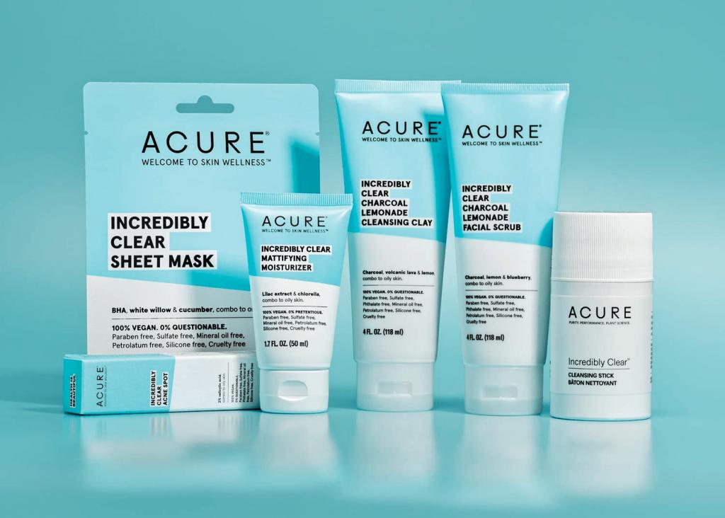 senseorient natural skincare for acne
