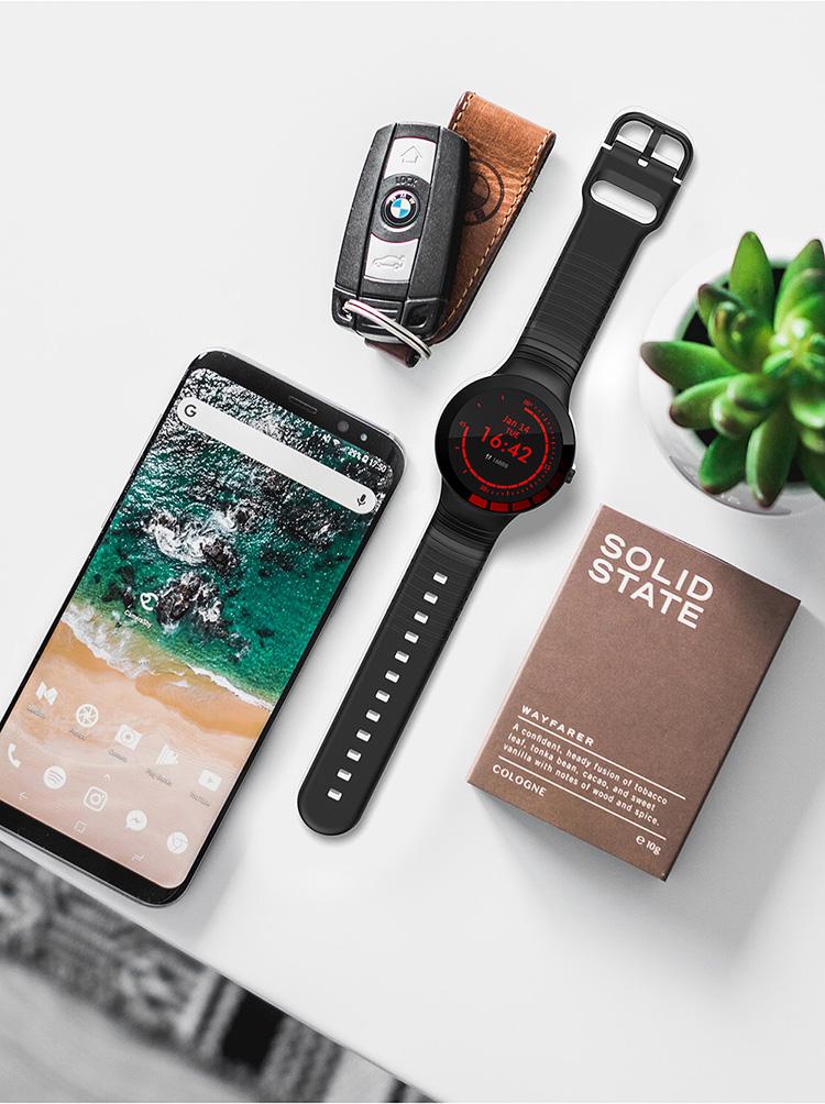 Melanda Full Touch Bracelet Smart Watch Top Luxury Brand Most Stylish Men's Sport Watch Waterproof Heart Rate Monitor Sleep Monitoring Smartwatch at SenseOrient